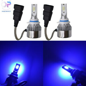 9006 2x Hb4 8000k Ice Blue High Power Led Headlights Kit Fog Light Driving Bulbs