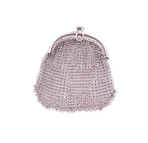 Vintage Chain Chainmail Coin Purse Maker A Brs 925 Sterling Silver 27 9g