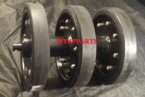 Asv Idler Group Complete With Rubber Wheels 2800 2810 Dx4530 Front Only