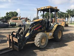 2006 Caterpillar 420d Backhoe Loader