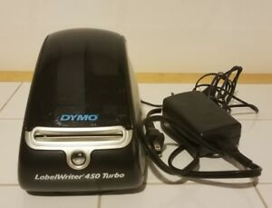 Dymo Labelwriter 450 Turbo Label Thermal Printer Used No Box