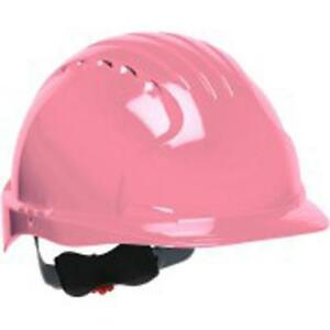 Safety Works Swx00370 Pro Cap Style Hard Hat Pink 6 Pack