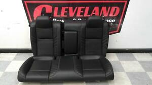 15 18 Dodge Challenger Srt Hellcat Oem Black Leather Rear Seat