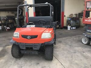 2007 Kubota Rtv900 Diesel 4x4 Utility Vehicle