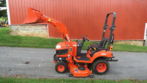 2016 Kubota Bx1870 4x4 Compact Utility Tractor W Loader Mower 79 Hours Diesel