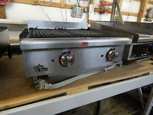 Star Max 24 Electric Char Broiler