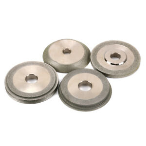 3 Inch Diamond Grinding Wheel Grinder Carbide Abrasive Tool 100 150 Grit 4pcs