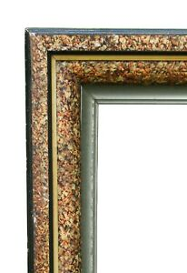 Extra Large Victorian Picture Frame Exceptional Faux Marble 28 X 34