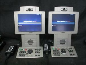 Tandberg T150 Mpx Personal Series Video Conference Phone set Of 2