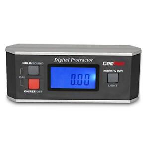 Gemred 82413 Digital Protractor Angle Finder Gauge Inclinometer With Backligh
