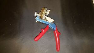 Curtis Industries Inc Model 15 Key Cutter Clipper Hand Held Punch Locksmith Vw