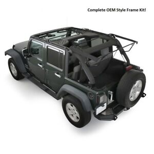 Smittybilt Complete O e Style Bow frame Assembly 2007 2018 4dr Jeep Wrangler Jk