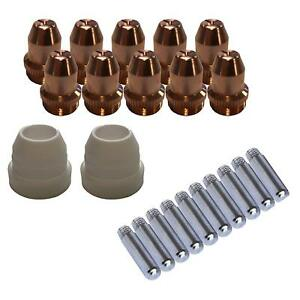 Lotos Lcs22 Plasma Cutter Consumables Sets For Brown Color Lt5000d Ct520d