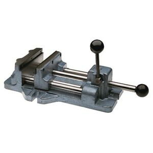 Wilton 13402 Cam Action Drill Press Vise 1206 6 Jaw Width 6 3 16 Jaw Opening