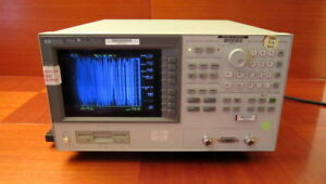 Hp 4291a Rf Impedance Material Analyzer Opt 001