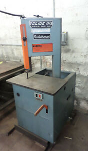 Scotchman Glide In Vertical Band Saw 1 4hp On Casters