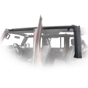 Smittybilt Complete O e Style Door Surround Kit 2007 2018 4dr Jeep Wrangler Jk
