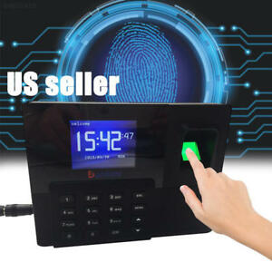 Ef97 New 2 8 Tft Fingerprint Attendance System Door Access Control With Tcp ip