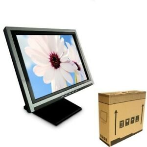 15 Touch Screen Pos Tft Lcd Touchscreen Monitor Retail Kiosk Restaurant Sliver