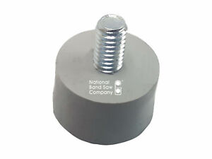 Hobart Meat Slicer Foot feet Non Skid Gray Rubber With 5 16 18 Mounting Screw