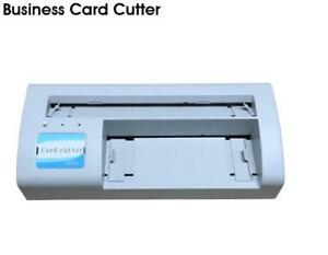 Automatic220v Business Name Card Slitter Office A4 Size Paper Cutting Machine