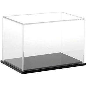Display Stands Plymor Brand Clear Acrylic Case Black Base 9 W X 6 H