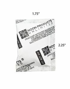Pro tect 5 Gram Silica Gel Packets pack Of 200 Desiccant Moisture Absorbing