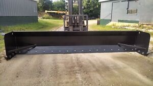 Linville 16 Loader Backhoe Pusher Snow Plow Free Shipping