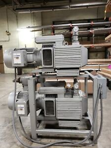 Becker Vtlf 250sk Advantage w Vacuum Pump System With Toshiba Motors