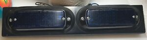 Vintage Whelen 500 Series 2 Blue Lights With Mounting Bracket