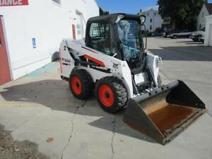 2013 S550 Bobcat Skid Steer Loader Erops Heat ac 301 Hours 2 Speed 61 Hp