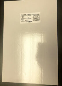 Polyester Laser Plate 8 5 8 X 12 Double Sided 10 000 Impressions 80000