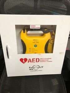 Defibtech Lifeline Ddu 100 Semi Automatic Aed With Wall Cabinet