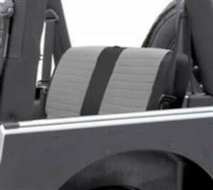 Smittybilt 2003 2006 Jeep Wrangler Unlimited Xrc Seat Cover Gray Black Rear