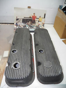 Mickey Thompson Valve Covers Chevrolet 427 Big Block Vintage Aluminum Casting