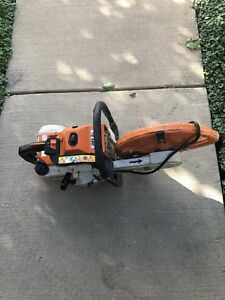 Stihl Ts460 Concrete Saw For Parts Only