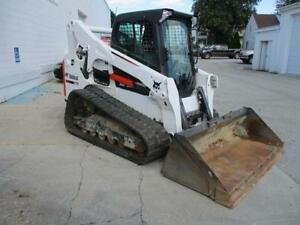 2016 Bobcat T770 Skid Steer Loader Erops Heat ac 1483 Hours 2 Speed 92 Hp