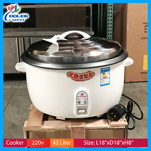 75 Cup Rice Cooker And Warmer Commercial 220v Cooler Depot New