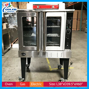 Single Deck Convection Oven Commercial Electric Baking Gas Cooler Depot