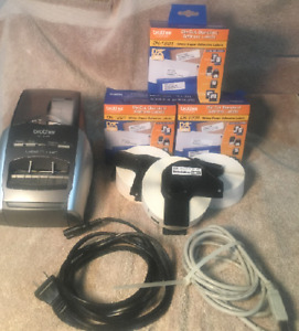 Free Ql570 W 10 Rolls Brother Dk 1201 Purchased All Tested some New