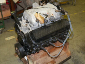 Chevrolet Gm 454 Engine Now 460ci Complete Fuel Injection Manifold To Oil Pan