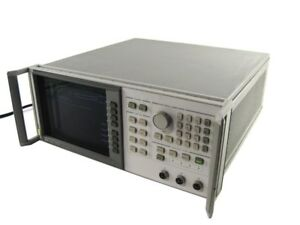 Hewlett Packard Hp 8757c Rev3 0 0 01 110ghz 3 detectors Scalar Network Analyzer