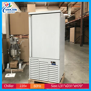 Commercial Shock Freezer Blast Chiller Stainless Steel 38f Cooler Depot