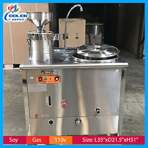 Soy Milk Maker Natural Gas Commercial Tofu Restaurants Cooler Depot New