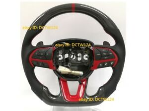 Dodge Charger Challenger Real Carbon Sport Steering Wheel 15 Custom Color
