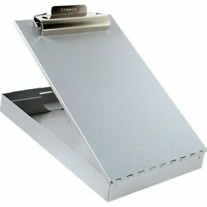 Saunders 213 Aluminum Redi Rite Storage Clipboard Form Holder With 1 Inch