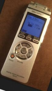 Olympus Ds 40 Digital Voice Recorder With Speaker Attachment