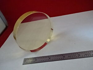 Optical Flat Zerodur 3 Diameter 1 10 Wavelength Wyko Optics As Is Bin ah 32