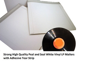 Peal And Seal 7 12 Inch White Vinyl Lp 7 12 Inch Cardboard Mailer Envelope New