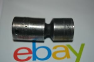 Snap On Tools 3 8 Dr 6 Pt Metric Impact Universal Swivel 17mm Socket Ipfm17c